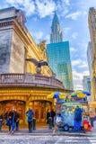 Het Voedselkar verkoper-2 van Manhattan royalty-vrije stock foto