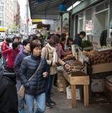 Het voedselmarkt van de Chinatownstraat Stock Fotografie