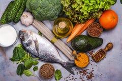 Het voedselmengeling van het Paganodieet stock foto's