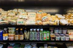 Het Voedselselectie van de delicatessenwinkellunch Royalty-vrije Stock Afbeeldingen