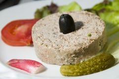 Het voedselvoorgerecht Corsica Frankrijk van Terrine Royalty-vrije Stock Foto