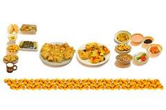 Het voedselwoord Stock Fotografie