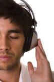 Het voelen van de muziek Stock Afbeelding