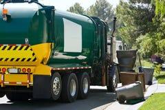 Het voertuig neemt Afval op Stock Afbeelding