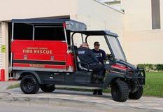 Het voertuig van de brandredding Stock Afbeelding