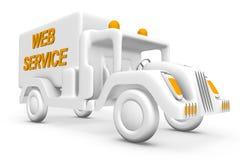 Het voertuig van de dienst stock illustratie