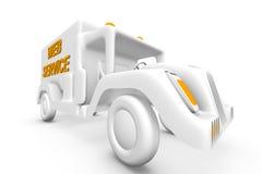 Het voertuig van de dienst Royalty-vrije Illustratie