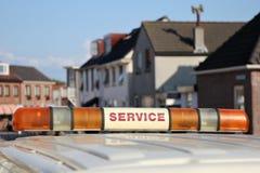 Het voertuig van de dienst Stock Fotografie