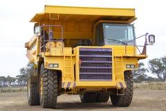 Het voertuig van de mijnbouw stock afbeeldingen