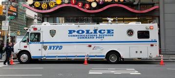 Het Voertuig van de politie Royalty-vrije Stock Afbeelding