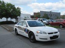 Het voertuig van de politie Stock Afbeelding