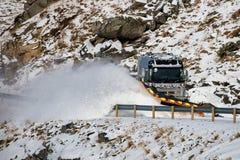 Het voertuig van de sneeuwverwijdering Royalty-vrije Stock Afbeelding