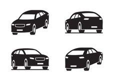 Het voertuig van het sportnut in perspectief vector illustratie