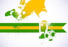 Het voetbal van Brazilië Royalty-vrije Stock Afbeelding