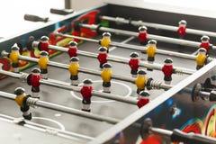 Het voetbal van de Foosballlijst voetbalsterssport teame Royalty-vrije Stock Afbeelding