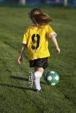 Het Voetbal van de jeugd royalty-vrije stock foto