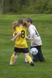 Het Voetbal van de jeugd stock fotografie