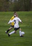 Het Voetbal van de jeugd Stock Afbeeldingen