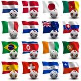 Het Voetbal van de Kop van de wereld - Zuid-Afrika 2010 Royalty-vrije Stock Fotografie