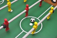 Het voetbal van de lijst Stock Fotografie