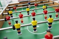 Het voetbal van de lijst Royalty-vrije Stock Foto's