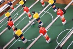 Het voetbal van de lijst Stock Afbeeldingen