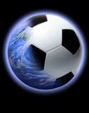 Het Voetbal van de planeet Stock Foto's