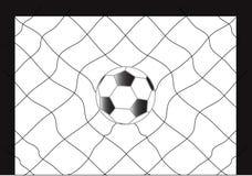 Het voetbal van de voetbal Royalty-vrije Stock Afbeelding
