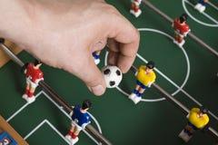 Het voetbal van het tafelblad royalty-vrije stock afbeeldingen