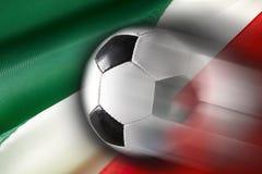 Het Voetbal van Italië stock fotografie