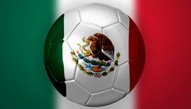 Het Voetbal van Mexico Royalty-vrije Stock Foto