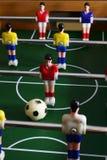 Het voetbal van het raadsspel royalty-vrije stock afbeeldingen