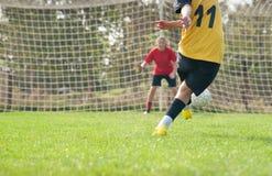Het voetbal van vrouwen royalty-vrije stock foto