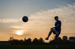 Het Voetbal van vrouwen royalty-vrije stock fotografie