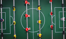 Het voetbalachtergrond van de lijst royalty-vrije stock foto's