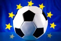 Het voetbalbal van 2012 van de euro Stock Foto's