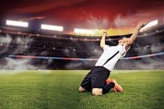 Het voetbalspel Royalty-vrije Stock Foto
