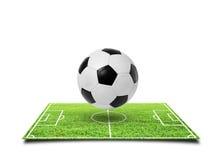 Het voetbalstadion van de voetbal Stock Foto