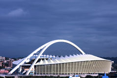Het voetbalstadion van Zuid-Afrika Mozes Mabhida Stock Fotografie