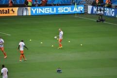Het voetbalteam van Nederland Royalty-vrije Stock Afbeelding