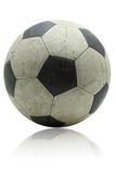 Het voetbalvoetbal van Grunge Stock Afbeeldingen