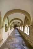 Het voetpad van de abdij Stock Fotografie