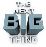 Het volgende grote ding die spoedig komen vector illustratie