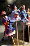 Het volksambacht van Peking Royalty-vrije Stock Foto's