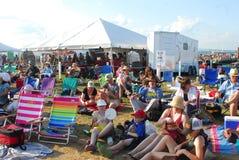 Het Volksfestival van Nieuwpoort stock foto