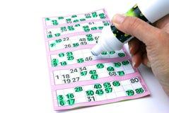 Het volledige huis van Bingo Stock Foto