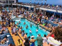 Het Volleyball van het cruiseschip Royalty-vrije Stock Afbeelding