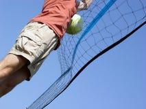 Het Volleyball van het strand Stock Afbeeldingen