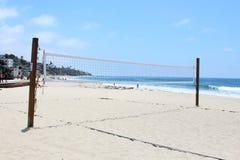 Het Volleyball van het strand, Laguna Beach, Californië stock afbeelding