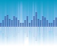 Het volume van de muziek Stock Afbeelding